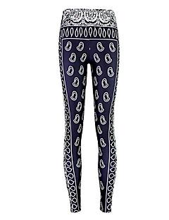 Naisten Kuvio Leggingsit,Polyesteri