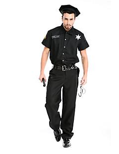 Costumes More Costumes Halloween Black Solid Terylene Top / Pants / More Accessories