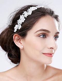Dam Spets / Akryl Headpiece-Bröllop / Speciellt Tillfälle Blommor 1 st.