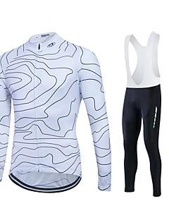 fastcute חולצת ג'רסי לרכיבה בגדי ריקוד גברים יוניסקס שרוול ארוך אופנייםג'קט מכנסיים חולצה סווטשירט אימונית מעילי פליז ג'רזי טייץ רכיבה על