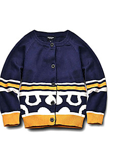 Boys' Casual/Daily Print Sweater & Cardigan,Cotton Spring Fall Winter Long Sleeve