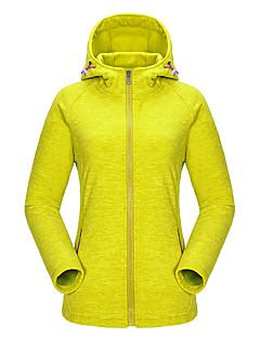 KORAMAN Women's Outdoor Sweatshirt Full-zip Drawsrting Sport Running Hooded Fleece Jacket