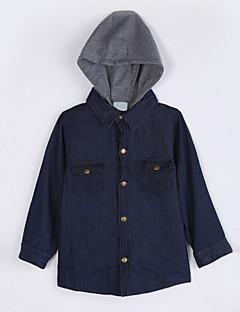 Unisex Pullover & Cardigan Lässig/Alltäglich einfarbig Baumwolle Herbst