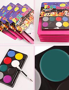 faciale make-up vopsea pigment de Halloween diy 8 pigment de culoare costume de securitate ușor de curățat