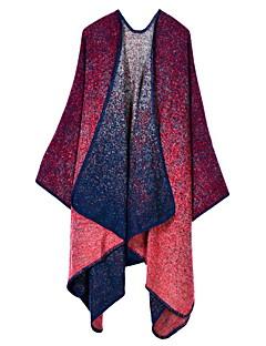 여성제품 캐쥬얼 폴리에스테르 스카프-직사각형 프린트