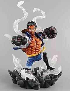 Las figuras de acción del anime Inspirado por One Piece Monkey D. Luffy PVC 26 CM Juegos de construcción muñeca de juguete
