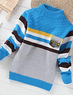 Menino de Suéter & Cardigan,Casual Geométrica Cashmere / Lã Inverno / Primavera / Outono Azul / Verde