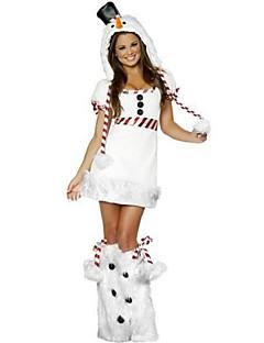 Cosplay Kostuums Wit Nepbont Textiel Binnenwerk Cosplayaccessoires Kerstmis Carnaval