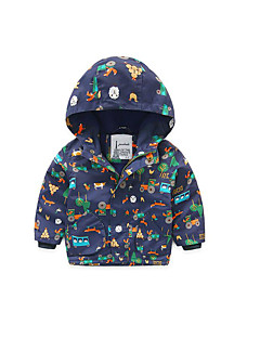 Boy's Casual/Daily Print Suit & BlazerPolyester Winter / Fall Blue