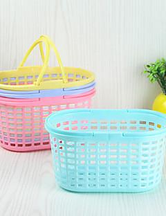 2pc kleur het huishouden culinair milieu fruit willekeurig de afwas multifunctionele bekken aad mand