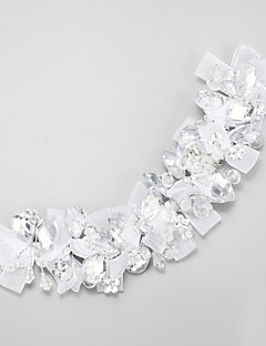 Women's Crystal / Alloy / Polyester Headpiece-Wedding / Special Occasion Headbands 1 Piece