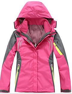 Vandring Softshell-jakker Dame Hold Varm / Hurtigtørrende / Vindtæt / Ultraviolet Resistent / Påførelig / Svedreducerende / TykForår /