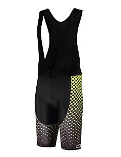 Sports QKI Cycling Bib Shorts Unisex Breathable /Polka Dots/ Anatomic Design /Polyester/ LYCRA / 5D Pad