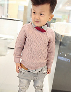 Boy's Casual/Daily Solid Sweater & CardiganCotton Spring / Fall Blue / Pink / Beige