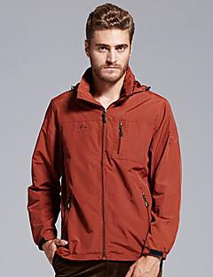 Hiking Softshell Jacket Men's Thermal / Warm / Wearable Fall/Autumn / Winter Tactel Dark Blue / Burgundy / Army Green /
