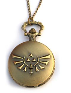 Hodiny / hodinky Inspirovaný The Legend of Zelda Eren Jager Anime Cosplay Doplňky Hodiny / hodinky Czarny / Zlatá Stop Pánský
