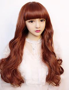 Lolita Wigs Sweet Lolita Lolita Long Brown Lolita Wig 75 CM Cosplay Wigs Wig For Women