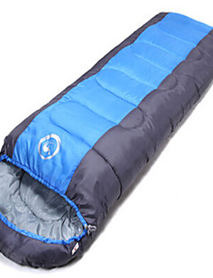 침낭 미라형 침낭 싱글 10 아래 1,000g 180X30 하이킹 / 캠핑 / 여행 / 실내 / 야외 비 방지 / 폴더 / 휴대용 / 밀폐 기능 OEM