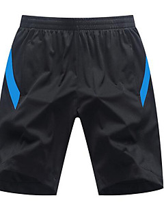 Herre Shorts til jogging Fort Tørring Myk Bekvem Shorts til Løper Trening & Fitness Racerløp Basketball Bomull Polyester Løstsittende
