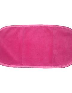 Ватные диски для снятия макияжа Микрофибра 1pcs Квадрат 19.5cm*6.5cm*4cm Нормальная черный увядает / Оранжевый / Роуз