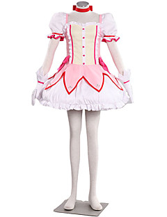 Puella Magi Madoka Cosplay Costumes Dress / Bow / Skirt / Stocks / Gloves / More Accessories Kid