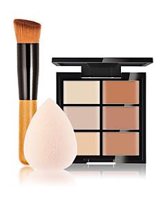 6 Correcteur/ContourHouppette/Eponge Pinceaux de Maquillage Humide Visage Correcteur Chine