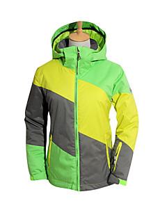 Ski Wear Ski/Snowboard Jackets Women's Winter Wear Polyester Stripe / Floral / Botanical Winter ClothingWaterproof / Breathable / Thermal