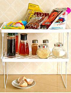 többcélú állvány összecsukható állvány kreatív konyha fürdőszoba konyha kellékek