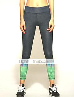 Jóga kalhoty Spodní část oděvu / Kalhoty / Cyklistické kalhoty / Legíny Prodyšné / Rychleschnoucí / wicking / Komprese / Lehké materiály