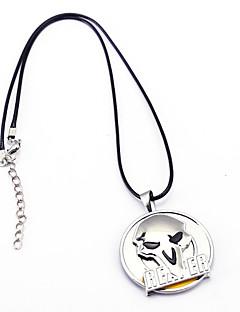 Mehre Accessoires Inspiriert von Wacht Cosplay Anime Cosplay Accessoires Halsketten Silber Legierung