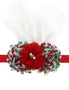 Høytidssmykker Hvit Rød Cosplay-tilbehør Jul