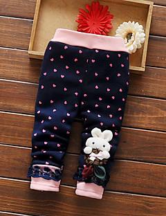 Girl Casual/Daily / Sports Polka Dot Pants-Cotton Winter / Fall