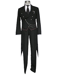Innoittamana Black Butler Cosplay Anime Cosplay-asut Cosplay Puvut YhtenäinenSmokki / Liivi / Pusero / Housut / Solmio / kaulakoru /