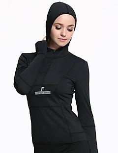 LAVIE.Q® Žene Dugi rukav Trčanje Majice Vjetronepropusnost Udobnost Proljeće Ljeto Sportska odjeća Yoga Trčanje Polyester Elastan Tactel