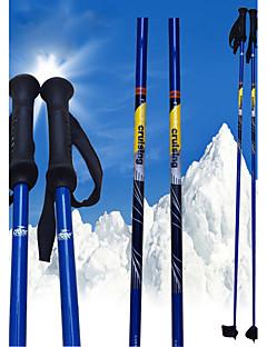 nordic kék szén sí pole .ski sport kellékek / zöld