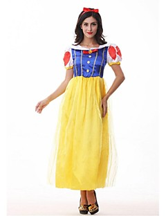 Adult Snow Princess Costume Carnival Halloween Costumes For Women Fairy tale Clothes Dress Female