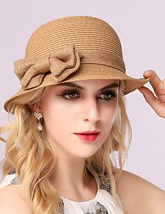 כובע שמש נשים וינטאג' / יום יומי,קש כל העונות