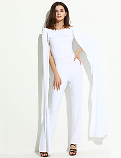 Damen Jumpsuits - Sexy Kurzarm Polyester Mikro-elastisch