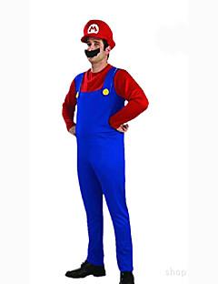 Cosplay Kostumer Party-kostyme Maskerade Cosplay Film-Cosplay Rød Grønn Topp Bukser Hatt Halloween Karneval Mann