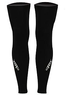Leg Warmers Kolo Zahřívací Lehké materiály Pohodlné Ochranný Unisex Černá Terylen