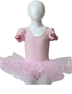 Ballet Tutus Dame Børne Ydeevne Træning Bomuld Tyl Lycra 1 Stykke Tutus