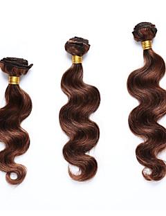gemarkeerde Hair Indiaas haar Body Golf 12 maanden 3-delig haarweefsels
