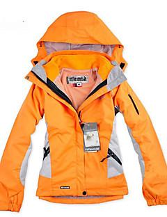 לנשים מעילי סקי/סנובורד ז'קט עם שכבה חיצונית רכה סקי מחנאות וטיולים ספורט פנאי ספורט שלג מורדעמיד למים נושם שמור על חום הגוף ייבוש מהיר
