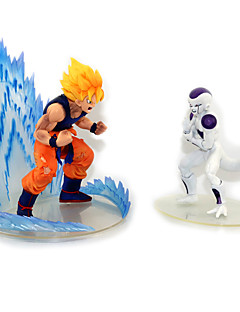 Anime Action Figures Inspired by Dragon Ball Goku Anime Cosplay Accessories Figure (2pcs)