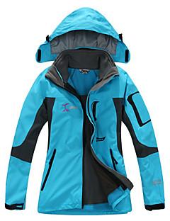 בגדי ריקוד נשים מעילי סקי/סנובורד ז'קט עם שכבה חיצונית רכה סקי מחנאות וטיולים ספורט פנאי ספורט שלג מורדעמיד למים שמור על חום הגוף ייבוש