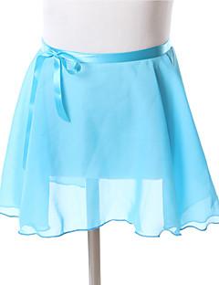 בגדי ריקוד לילדים חצאיות בגדי ריקוד ילדים אימון שיפון חלק 1 חצאית 27