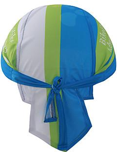 모자 Headsweat 자전거 통기성 빠른 드라이 방풍 절연 박테리아 제한 피부마찰 감소 땀 흡수 기능성 소재 소프트 선크림 여성의 남성의 남녀 공용 블루 테릴렌