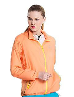 Women's Short Sleeve Running Tops Quick Dry Windproof Breathable Spring Summer Sports Wear Yoga Taekwondo Climbing Golf Leisure Sports