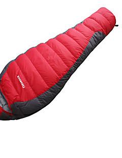 침낭 미라형 침낭 싱글 -15-20 오리다운 300g 220X80 하이킹 캠핑 여행 수렵 야외 수분 방지 호흡 능력 빠른 드라이 바람 방지 휴대용