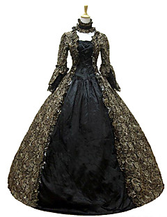 Steampunk®Colonial Georgian Penny Dreadful Victorian Dress Gothic Period Ball Gown Reenactment Theater Costume